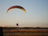 learn the basic techniques of the paramotor