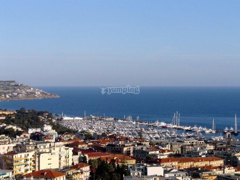 La città di Sanremo