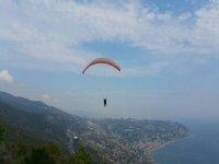 Ammirando il Mar Ligure