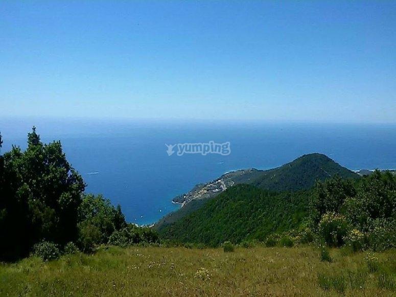 Panoramica di Sanremo