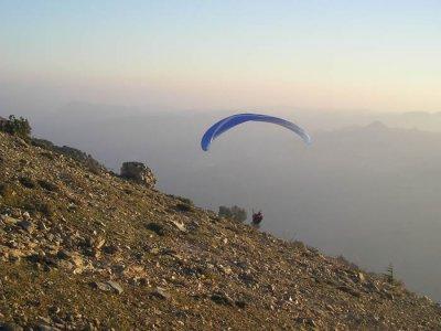 Volo parapendio in tandem +video ( 20min) ,Sassari