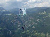 Volo parapendio tandem+foto+video(10/15min)Bolzano