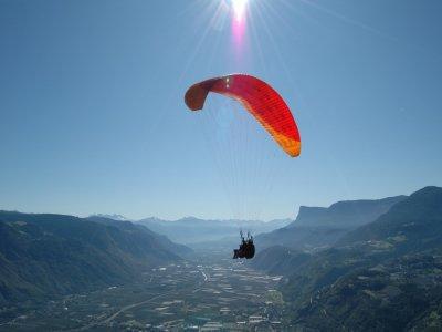 Volo parapendio tandem (20/30min) , Bolzano