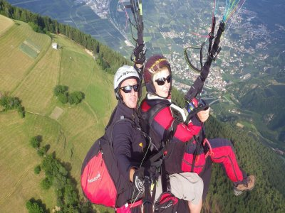 Volo parapendio termico+foto+video(30/40), Bolzano