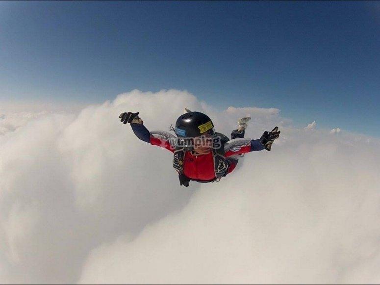 l'emozione di volare tra le nuvole!