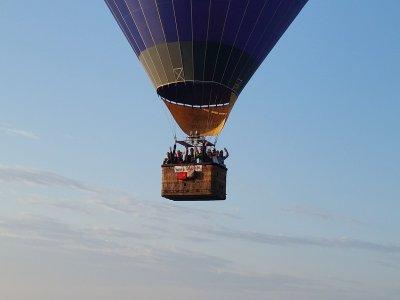 Tour in mongolfiera di 1 ora vicino Roma