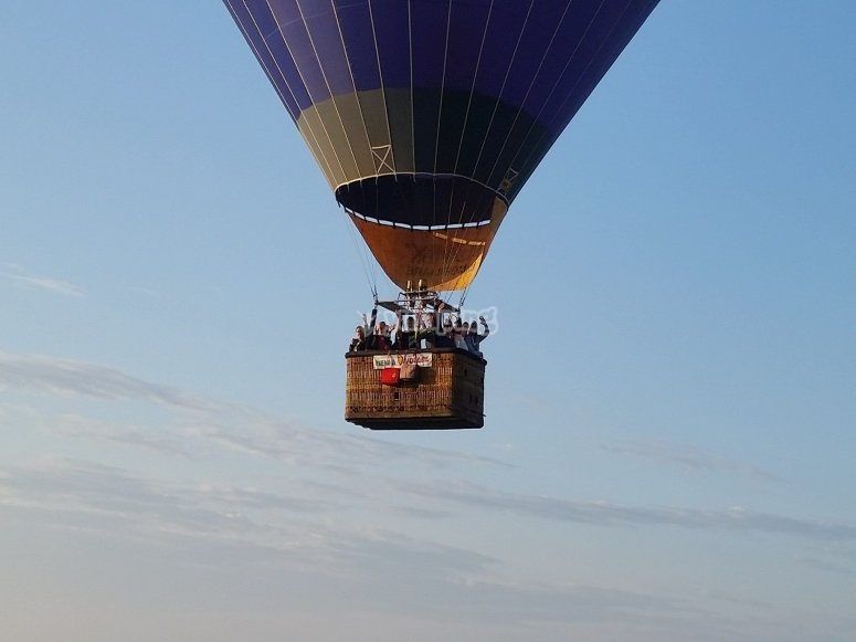 Uno dei nostri voli di gruppo, il divertimento è assicurato