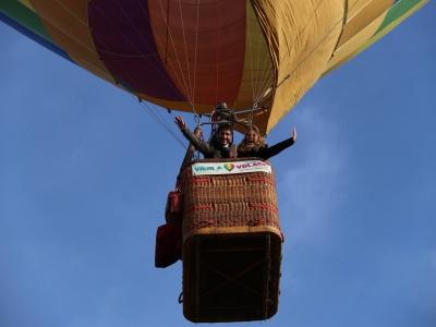 Volo in mongolfiera esclusivo su Siena di 1 ora
