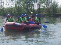 Rafting di gruppo