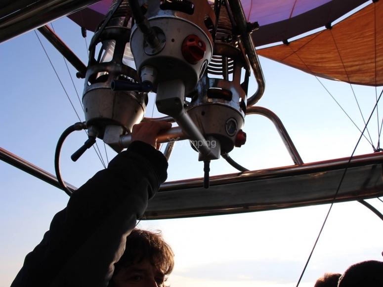 Dettaglio di una delle nostre mongolfiere