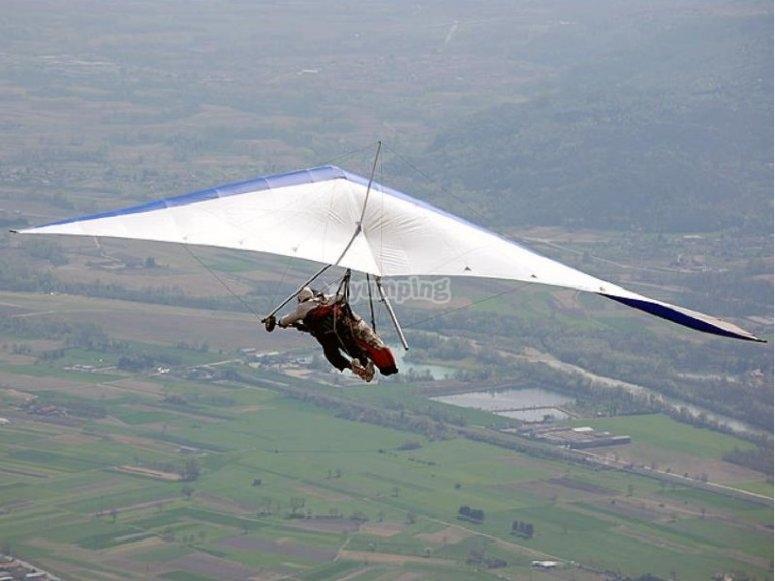 hang-gliding colo in Pieonte