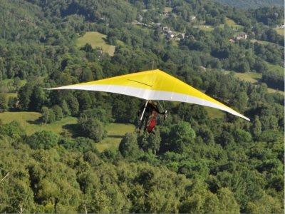 Volo deltaplano + video (15/30min), Torino