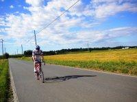 una bella corsa in bici tra il verde