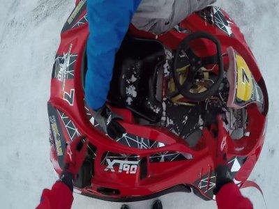 "Gara Kart su ghiaccio""Endurance Spa"", Cervinia"