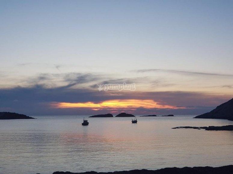 Il tramonto di S Antioco