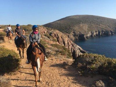 Passeggiata a cavallo (1,20h), Sant'Antioco