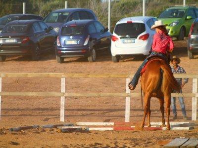 Percorso avvicinamento al cavallo, S. Antioco (4h)