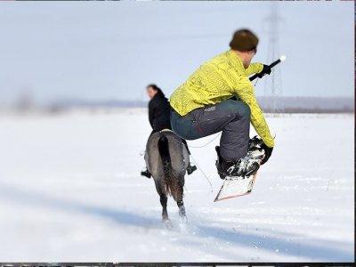 Ski Dragging(15min), Campitello di Fassa