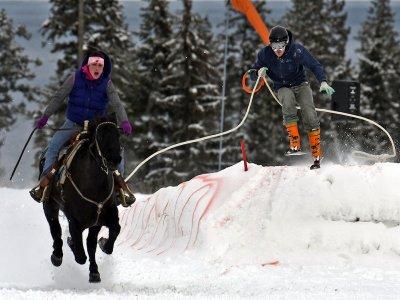 Lezioni Ski Dragging(1set), Campitello di Fassa