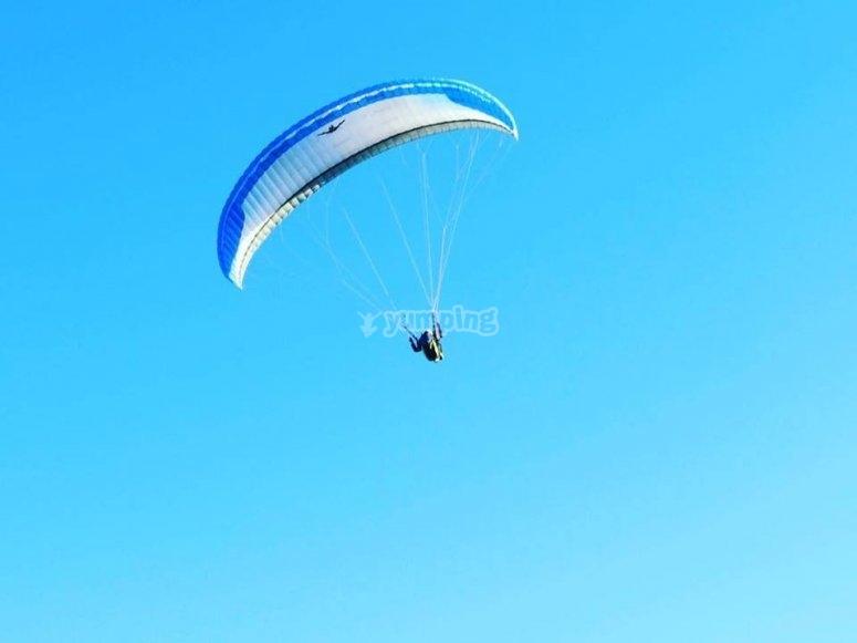 il parapendio è lo sport aereo piú sicuro!