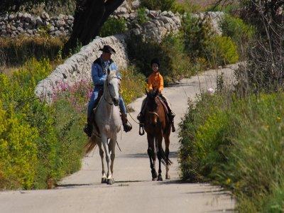 Passeggiata a cavallo (2h), Ragusa
