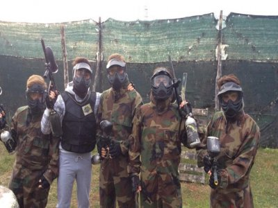 Paintball ,640 colpi, Roma