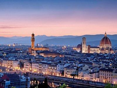 Tour in elicottero di 45 min su Firenze
