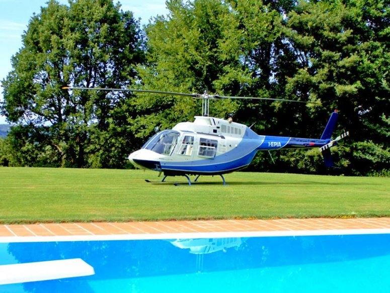 i nostri elicotteri sono comodi e sicuri