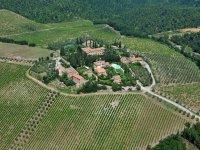 Tour elicottero Chianti/Castello Albola, Pratello