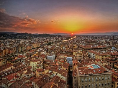 Tour in elicottero su Firenze 10 -12 minuti