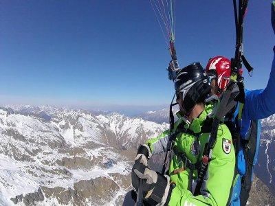 Volo parapendio tandem video+foto (30min), Trento
