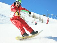 Lezione di snowboard(1h- alta stagione), Sestriere