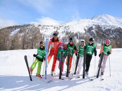 Lezione sci alpino(1h altissima stagione)Sestriere