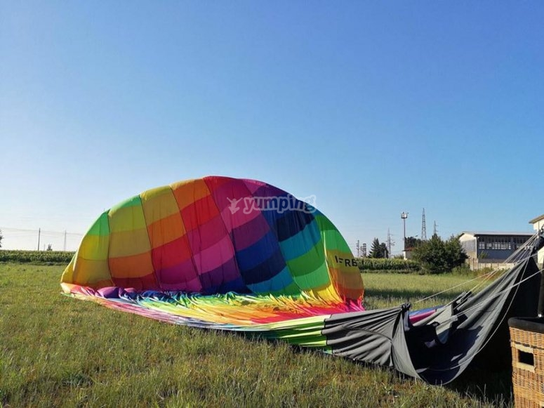 Let's inflate the balloon
