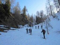 Uscita di sci escursionismo