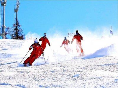 Alpine skiing course (4 days - high season), Sestriere