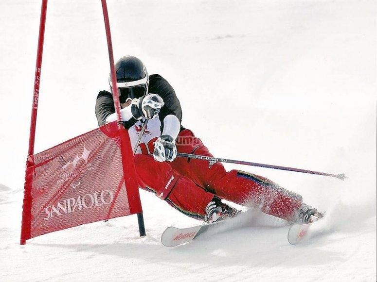 i nostri maestri sono professionisti di sci !