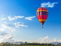 Hot air balloon flight for children Magliano Sabina 1 hour