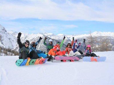 Corso snowboard(5gg-altissima stagione), Sestriere