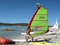 Windsurfing in Villasimius
