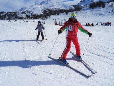 Lezione sci alpino(1giorn-alta stagione),Sestriere