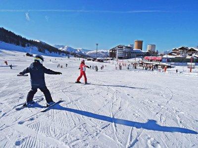 Lezione sci alpino(1g-altissima stagione),Sestrier
