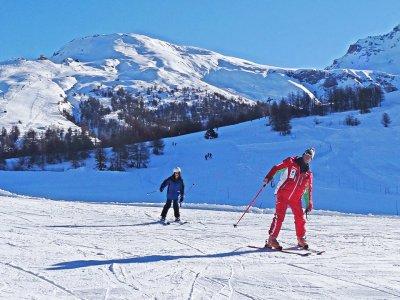 Lezione sci alpino(1/2g-bassa stagione),Sestriere