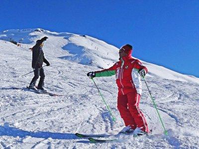 Lezione sci alpino(1/2g-alta stagione),Sestriere