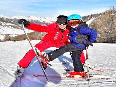 Alpine skiing lesson (1 / 2g-altiss season), Sestriere