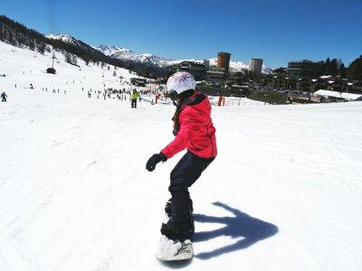 Lezione snowboard(1g-altissima stagione),Sestriere