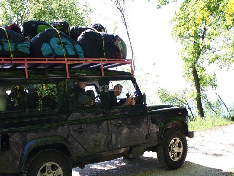 una delle nostre jeep