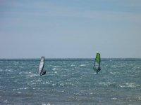 Wind in mezzo al mare
