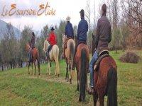Lunigiana a cavallo