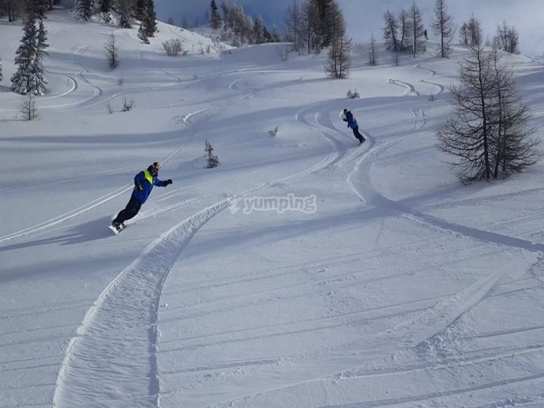 our incredible slopes